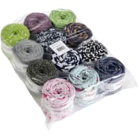 Hoooked Baby Zpagetti Yarn Set 12/Skeins-Print Mix