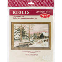 """RIOLIS Counted Cross Stitch Kit 8.25""""X6""""-Winter Fairy Tale (15 Count)"""
