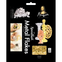 Mona Lisa Metal Leaf Flakes 3g-Gold