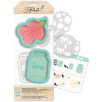 Sweet Sugarbelle Specialty Cookie Cutter Set 7/Pkg-Country Rose