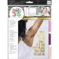 Happy Planner 4-Month Undated Big Planner Extension Pack-Fitness