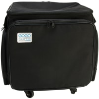 Hampton Art GOGO 300 Crafter Rolling Tote-Black