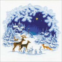"RIOLIS Counted Cross Stitch Kit 17.75""X17.75""-Christmas (15 Count)"