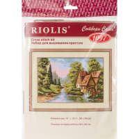 "RIOLIS Counted Cross Stitch Kit 15""X10.25""-The Mill (14 Count)"