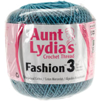 Aunt Lydia's Fashion Crochet Thread Size 3-Warm Teal