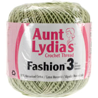 Aunt Lydia's Fashion Crochet Thread Size 3-Lime