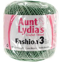 Aunt Lydia's Fashion Crochet Thread Size 3-Sage