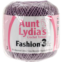 Aunt Lydia's Fashion Crochet Thread Size 3-Plum