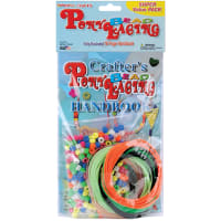 Pony Bead Lacing Super Value Pack