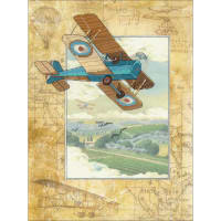 """RIOLIS Stamped Cross Stitch Kit 11.75""""X15.75""""-Above The Clouds(14 Count)"""