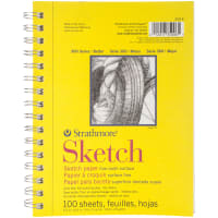 "Strathmore Sketch Paper Pad 5.5""X8.5""-100 Sheets"