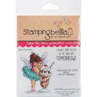 Stamping Bella Cling Stamps-Edna Loves Ice Cream