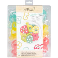 Sweet Sugarbelle Cookie Cutter Set 27/Pkg-Alphabet