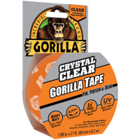 "Gorilla Crystal Clear Tape 1.88""X27'-Clear"