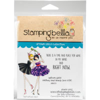 Stamping Bella Cling Stamps-Uptown Girls Whitney & Wendy Love Wine