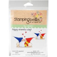 Stamping Bella Cling Stamps-Smoochie Gnomes