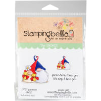 Stamping Bella Cling Stamps-Lovey Gnomes