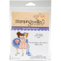 Stamping Bella Cling Stamps-Tiny Townie-Huggy Friends