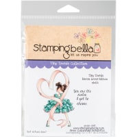 Stamping Bella Cling Stamps-Tiny Townie-Raven Loves Ribbon