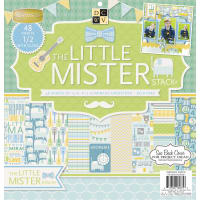 "DCWV Single-Sided Cardstock Stack 12""X12"" 48/Pkg-Little Mister, 24 Des/2 Each, 12 W/Gloss"