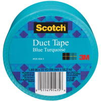 "Scotch Solid Duct Tape 1.88""X20yd-Turquoise"
