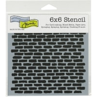 """Crafter's Workshop Template 6""""X6""""-Micro Brick"""