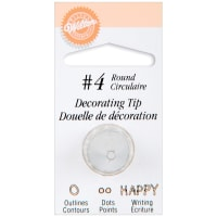 Decorating Tip-#4 Round