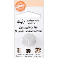 Decorating Tip-#47 Basketweave