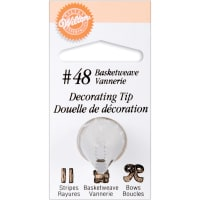 Decorating Tip-#48 Basketweave