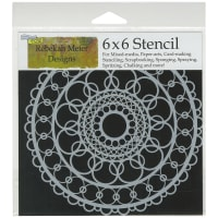 "Crafter's Workshop Template 6""X6""-Ring Doily"