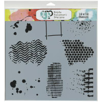 """Crafter's Workshop Template 12""""X12""""-Texturized"""