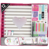 Happy Planner 12-Month Undated Big Planner Box Kit-Rainbow Foil
