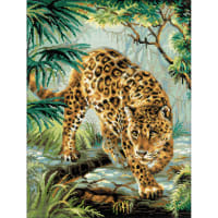 "RIOLIS Counted Cross Stitch Kit 11.75""X15.75""-Owner Of The Jungle (14 Count)"