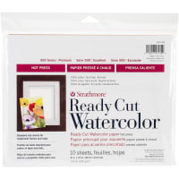"Strathmore Watercolor Paper Pack 8""X10""-10 Sheets"
