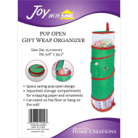 "Pop Open Gift Wrap Organizer-39.3""X9.8"""