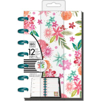 "Happy Planner 12-Month Undated Mini Planner 5.125""X7.5""-Happy Mind Happy Life"
