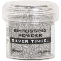 Ranger Embossing Powder-Silver Tinsel