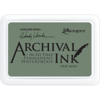 Wendy Vecchi Archival Ink Pad-Peat Moss