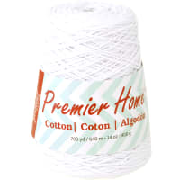 Premier Yarns Home Cotton Yarn - Solid Cone-White