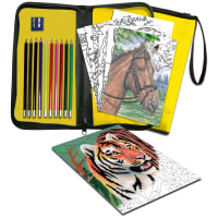Big Kid's Choice Easy To Do Keep 'N Carry Set-Color Pencil By Number