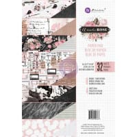 Prima Marketing Double-Sided Paper Pad A4 32/Pkg-Amelia Rose, 8 Designs/4 Each