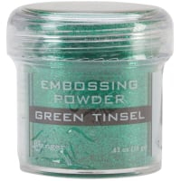 Ranger Embossing Powder-Green Tinsel