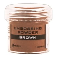 Ranger Embossing Powder-Brown