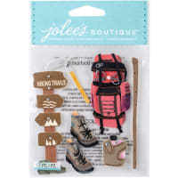 Jolee's Boutique Dimensional Stickers-Hiking Trip