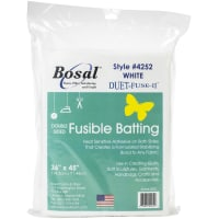 "Bosal Duet-Fuse-II Double-Sided Fusible Batting-36""X45"""