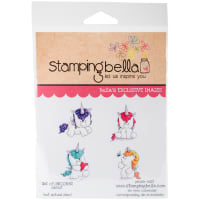 Stamping Bella Cling Stamps-Set Of Unicorns