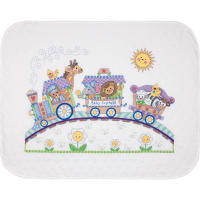 """Dimensions/Baby Hugs Quilt Stamped Cross Stitch Kit 43""""X34""""-Baby Express"""