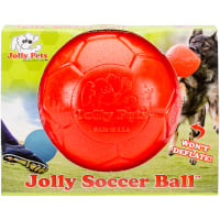 "Jolly Soccer Ball 6""-Orange"