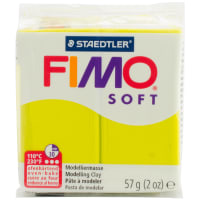 Fimo Soft Polymer Clay 2oz-Lime Green