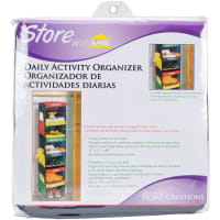 Daily Activity Organizer-6 Cubbies